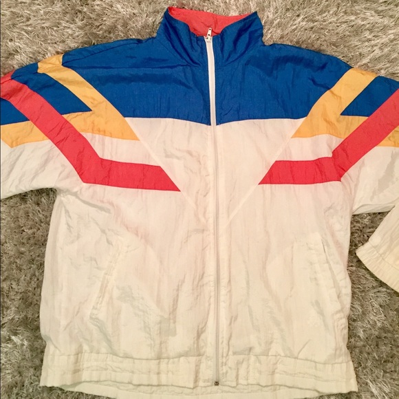 ca0616c3f6d6 jcpenney Other - Early 90 s Vintage Olympic color blocked Jacket